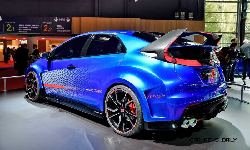 2015 Honda Civic Type R Concept Two Makes Paris Debut 7