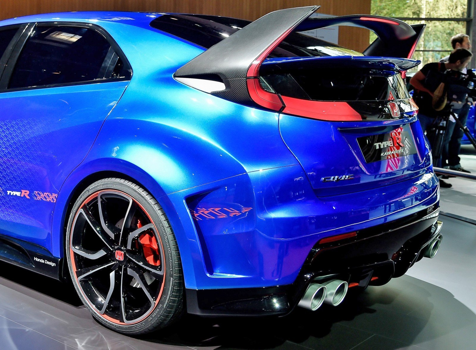 2015 Honda Civic Type R Concept Two Makes Paris Debut 8