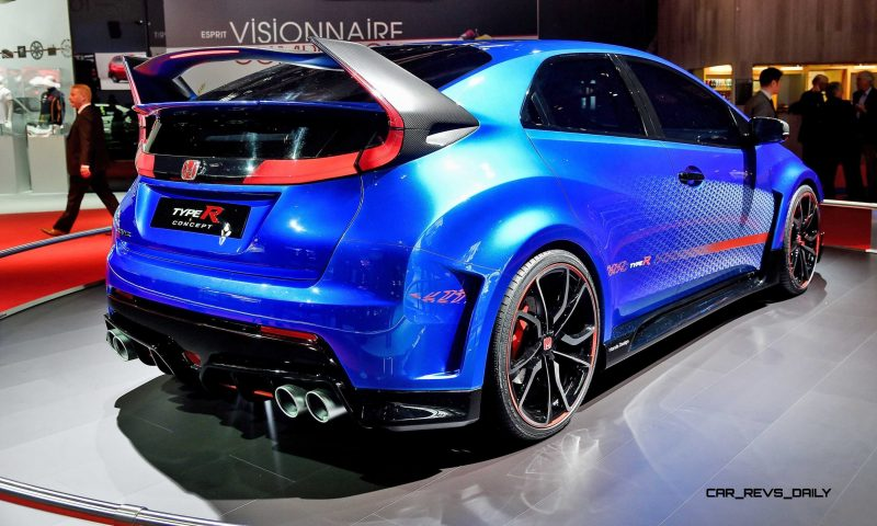 2015 Honda Civic Type R Concept Two Makes Paris Debut 9