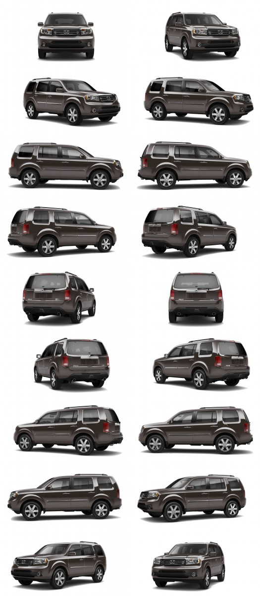 2015 Honda Pilot Colors 1-tile dark amber metallic