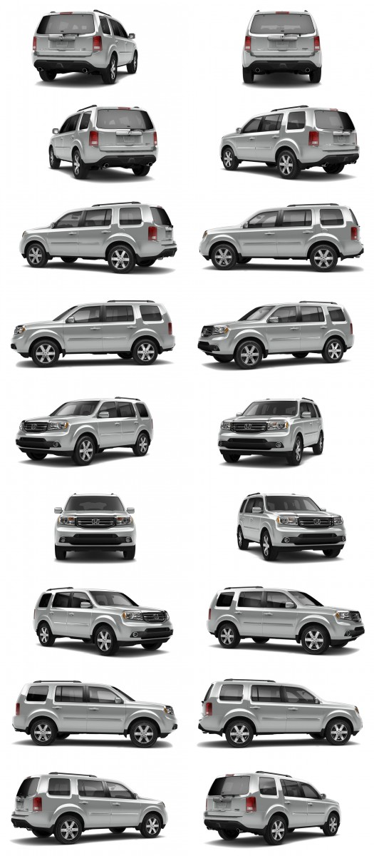 2015 Honda Pilot Colors 111-tile silver