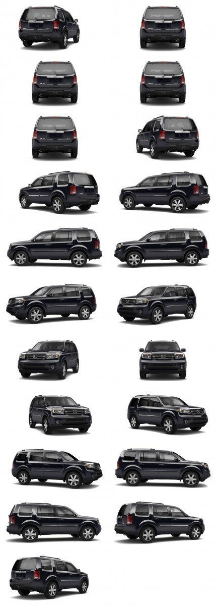 2015 Honda Pilot Colors 39-tile black