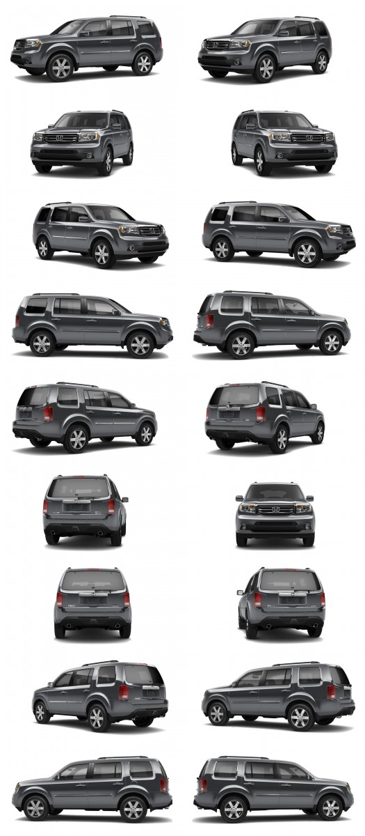 2015 Honda Pilot Colors 65-tile dark steel metallic