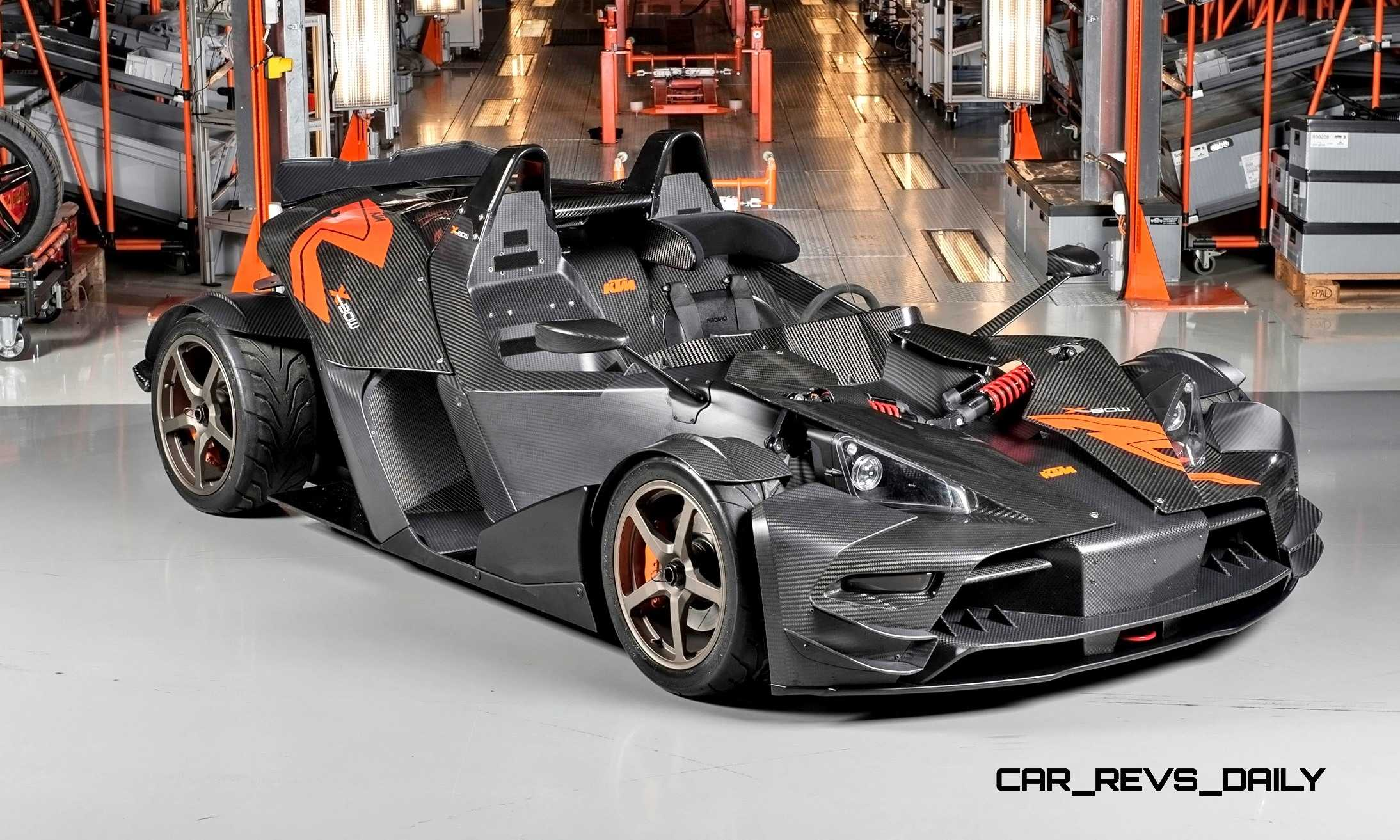 2015 KTM X Bow RR Is 400HP of Race Ready Speed With Full Track Upfit