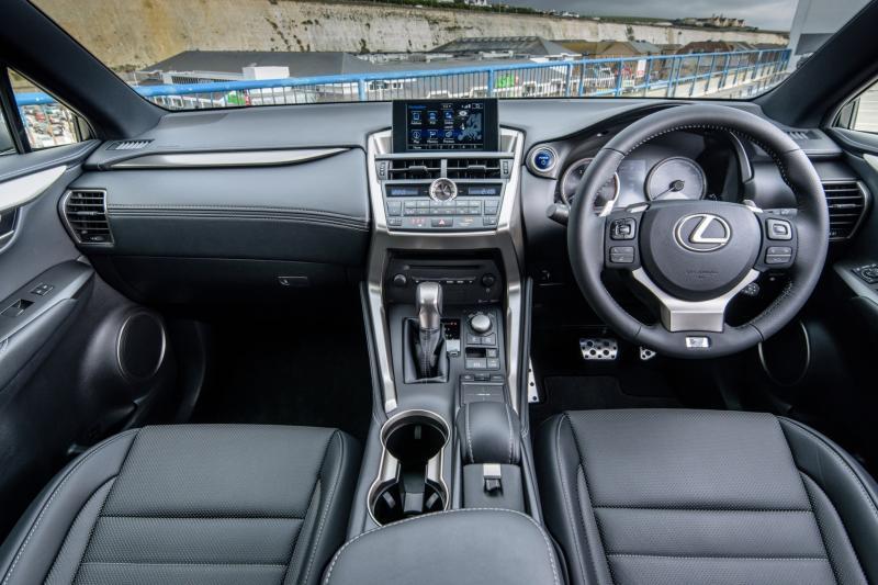 2015 Lexus NX300h F Sport 9
