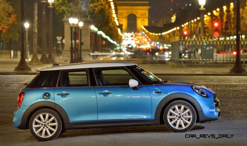 2015 MINI Cooper 5-Door in Postcard-Worthy Trip Around The City of Light 36