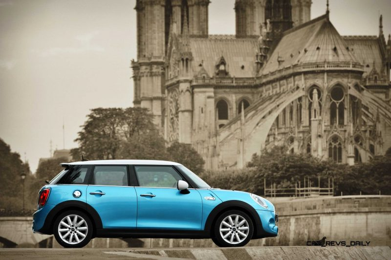 2015 MINI Cooper 5-Door in Postcard-Worthy Trip Around The City of Light 5