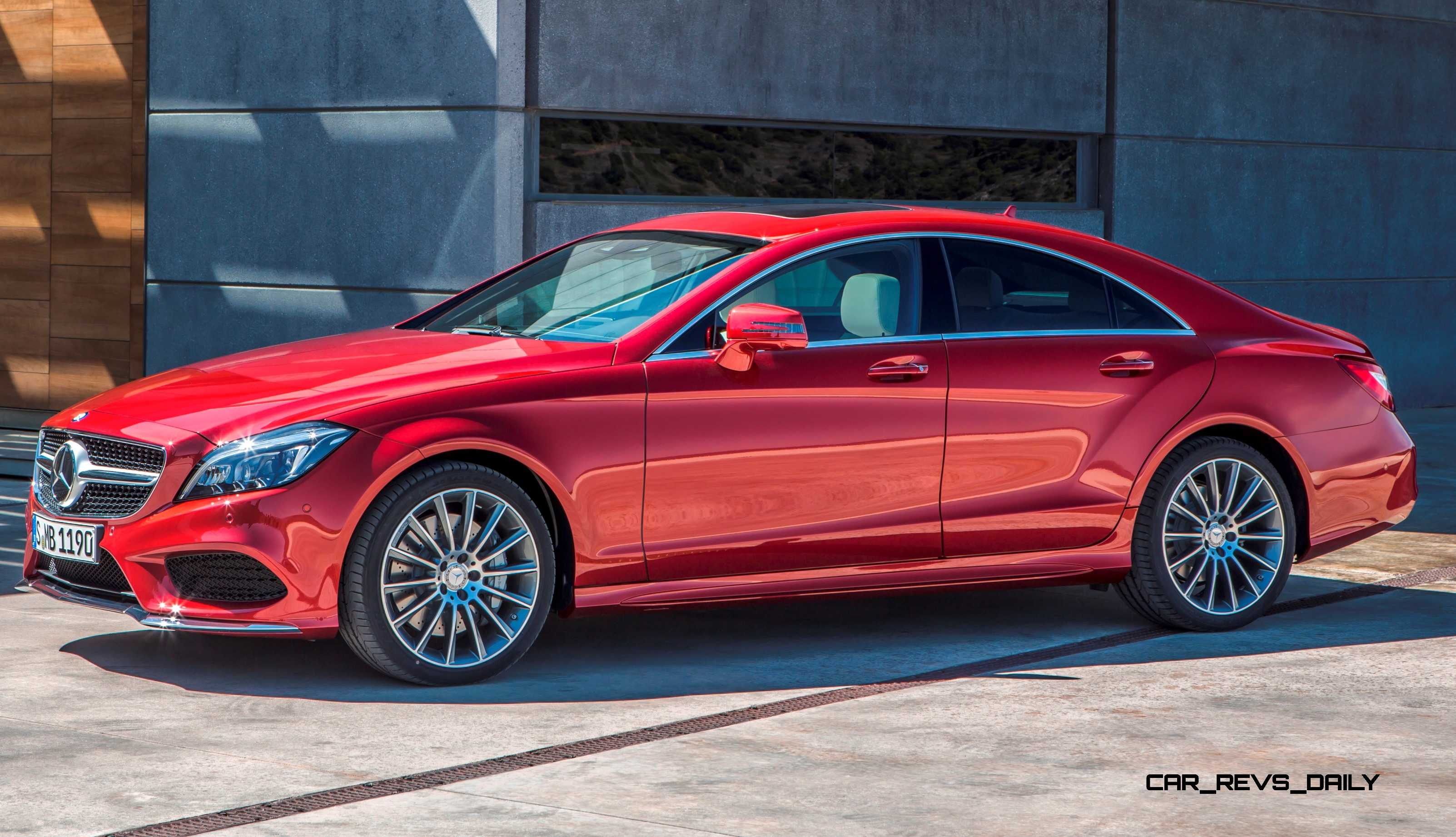 2015 mercedes benz cls550 and cls63 amg for Mercedes benz cls550 4matic
