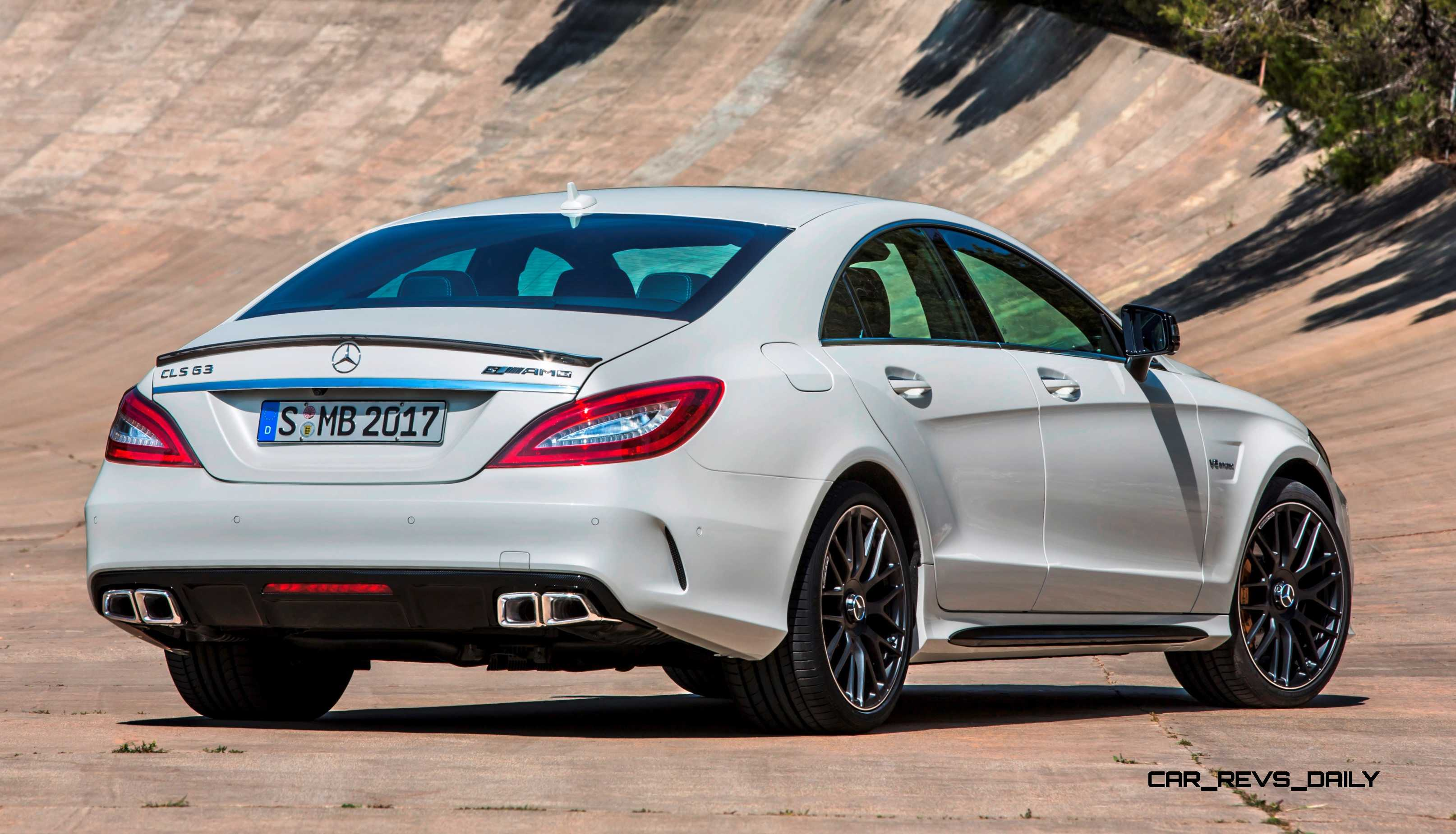 2015 mercedes benz cls550 and cls63 amg