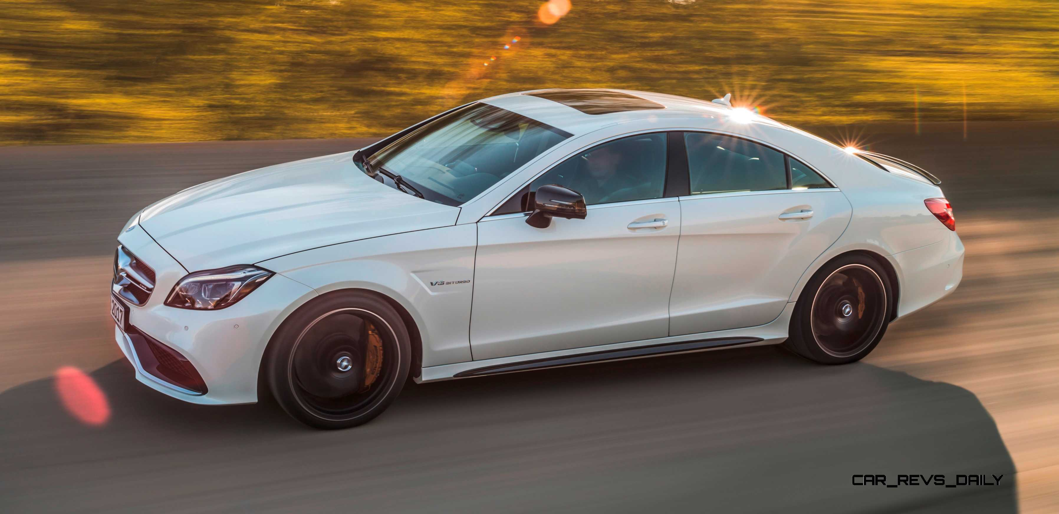2015 mercedes benz cls550 and cls63 amg for Mercedes benz cls63