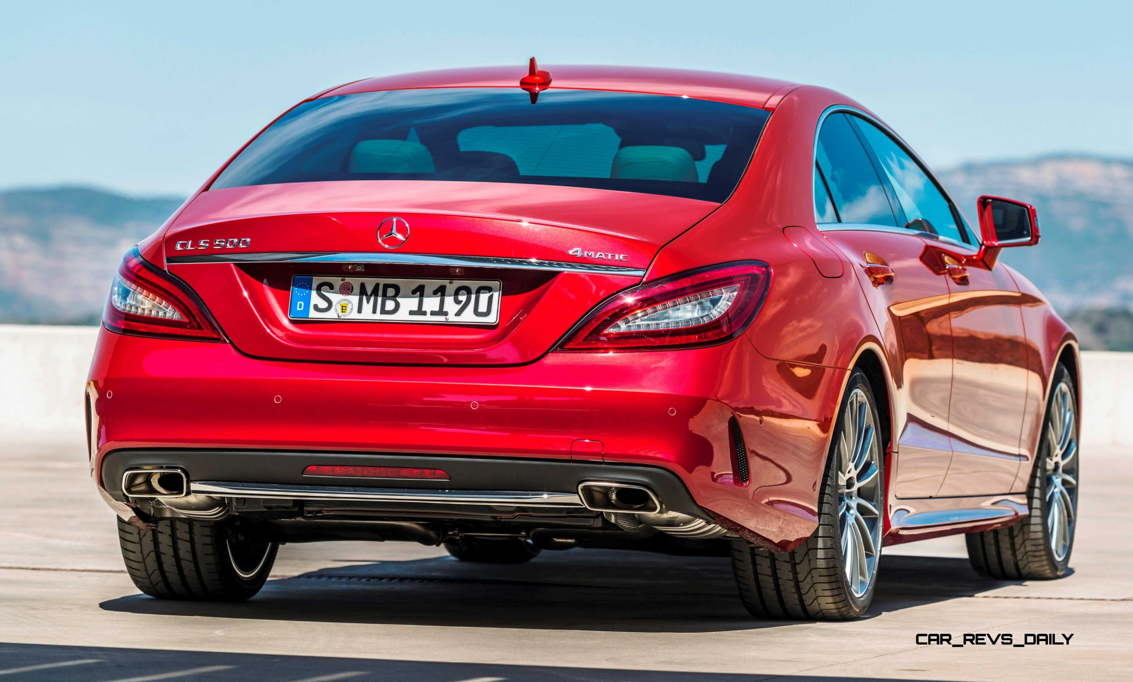 2015 mercedes benz cls550 and cls63 amg for Mercedes benz cls550 2014