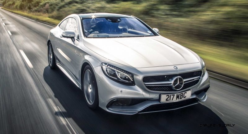 2015 Mercedes-Benz S63 AMG Coupe 2