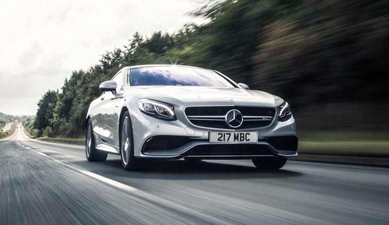 2015 Mercedes-Benz S63 AMG Coupe 3