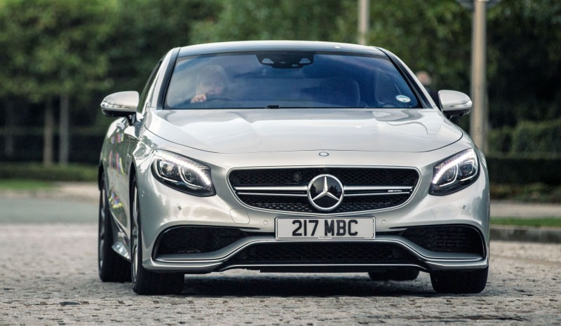 2015 Mercedes-Benz S63 AMG Coupe 6