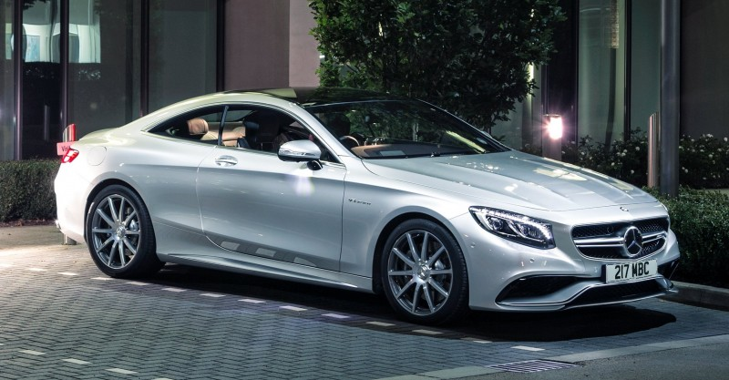 2015 Mercedes-Benz S63 AMG Coupe 8