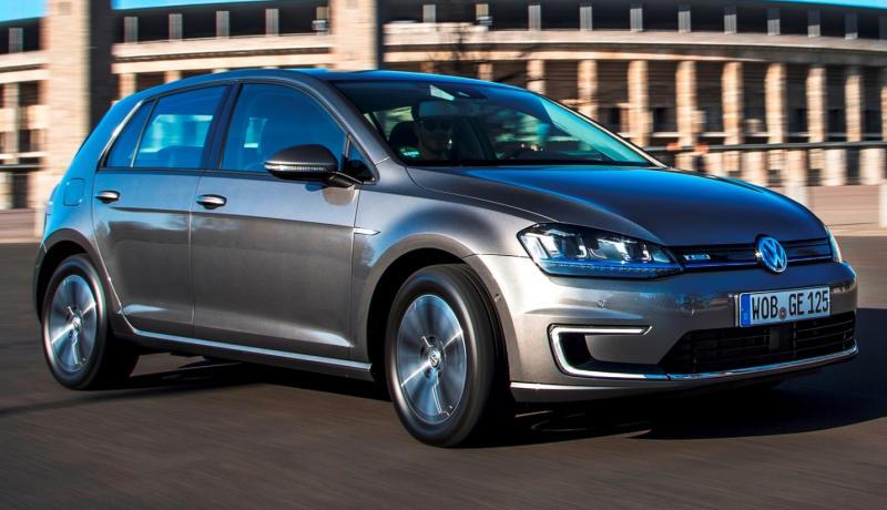 2015 Volkswagen e-Golf 18