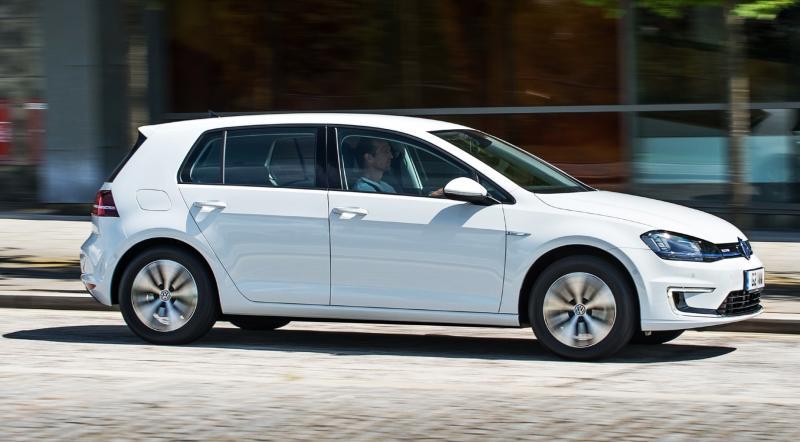 2015 Volkswagen e-Golf 9