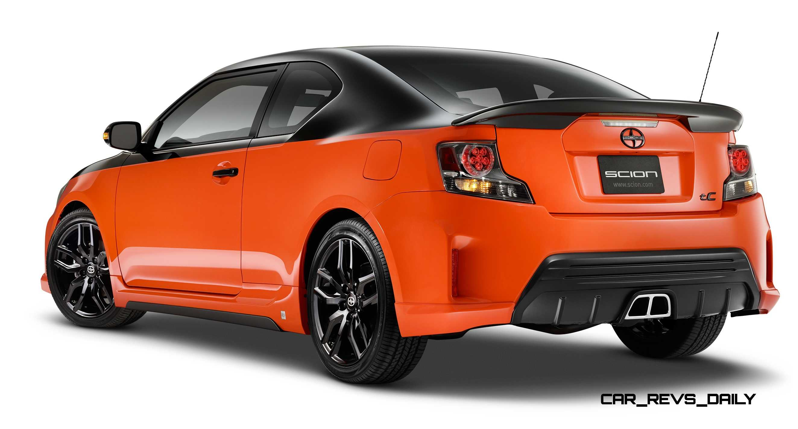 2015 scion tc release series 9 0 brings showcar style to showrooms from 24k. Black Bedroom Furniture Sets. Home Design Ideas