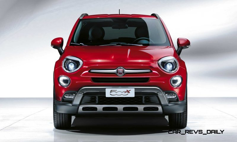 2016 Fiat 500X Makes Paris Debut With Optional AWD and 9-Speed Automatic 10