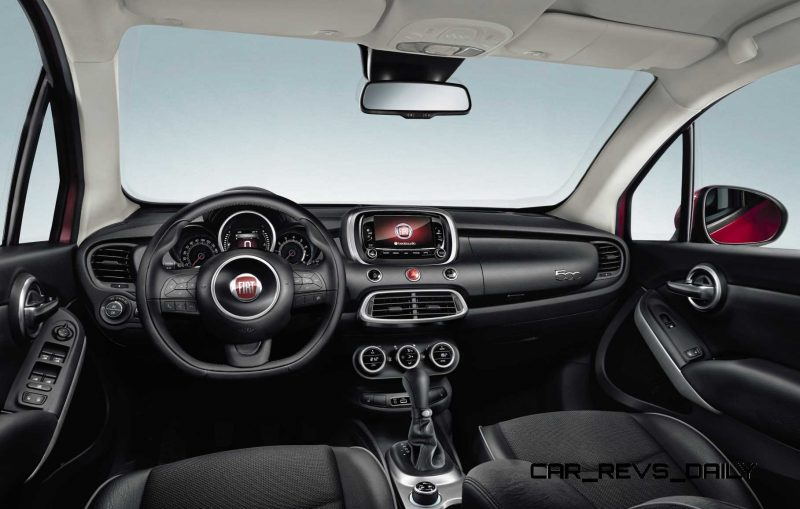 2016 Fiat 500X Makes Paris Debut With Optional AWD and 9-Speed Automatic 12