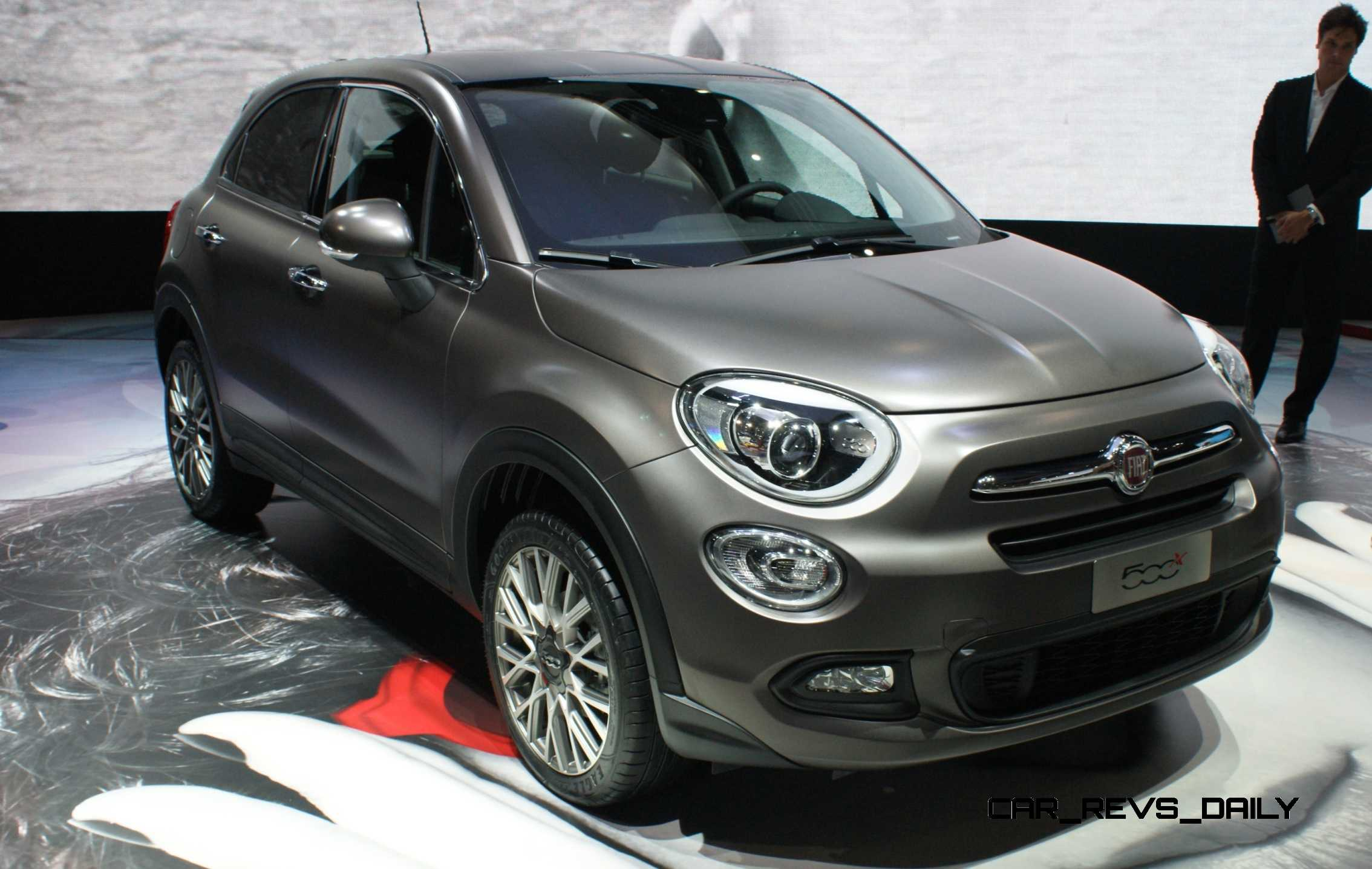 2016 fiat 500x makes paris debut with optional awd and 9 speed automatic. Black Bedroom Furniture Sets. Home Design Ideas