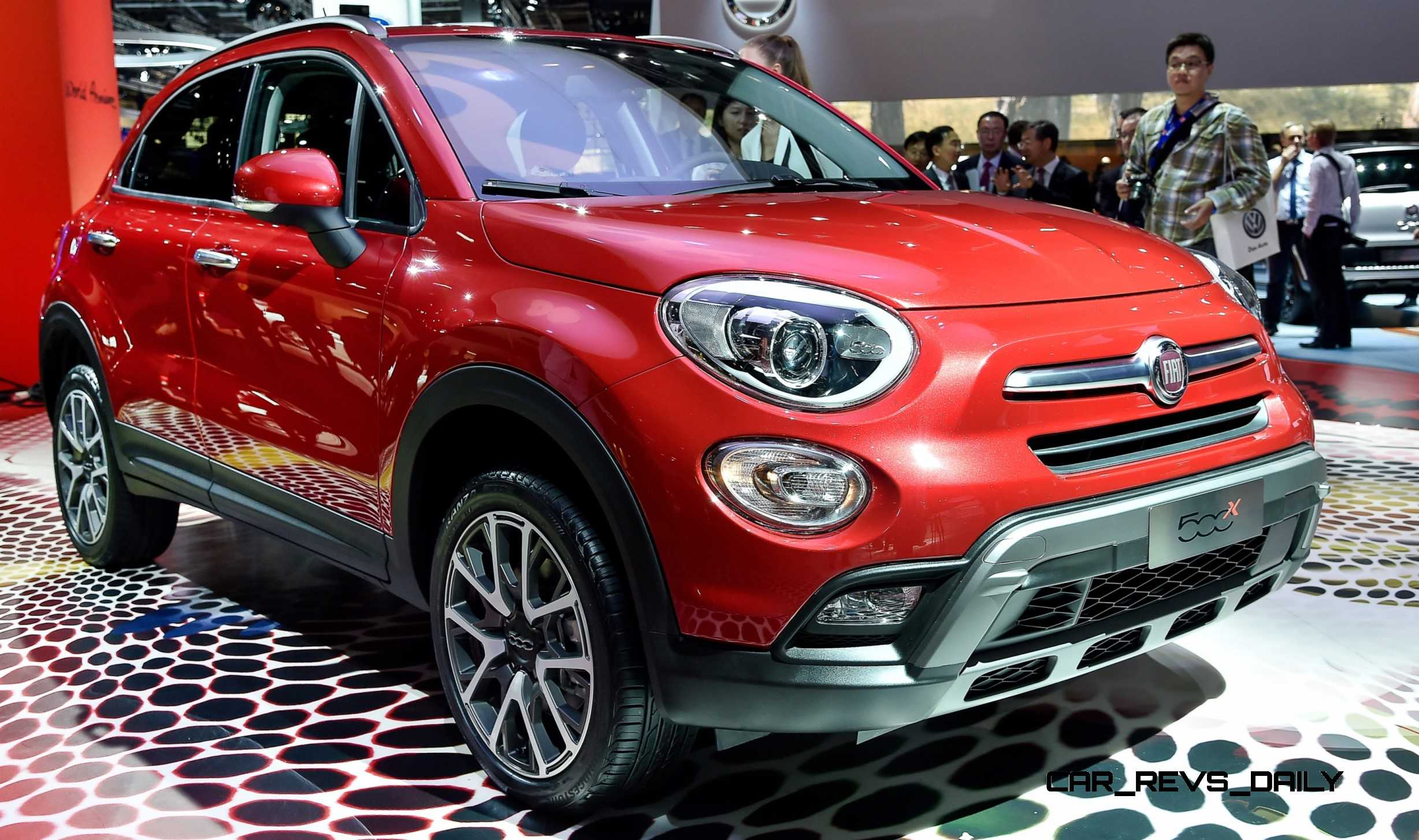 2016 Fiat 500x Makes Paris Debut With Optional Awd And 9