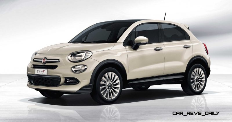 2016 Fiat 500X Makes Paris Debut With Optional AWD and 9-Speed Automatic 5