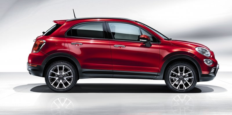 2016 Fiat 500X Makes Paris Debut With Optional AWD and 9-Speed Automatic 7