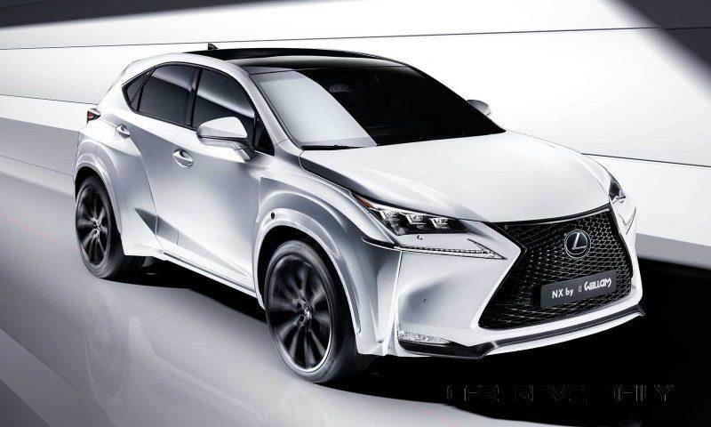 2016 Lexus NX-F Concept 1