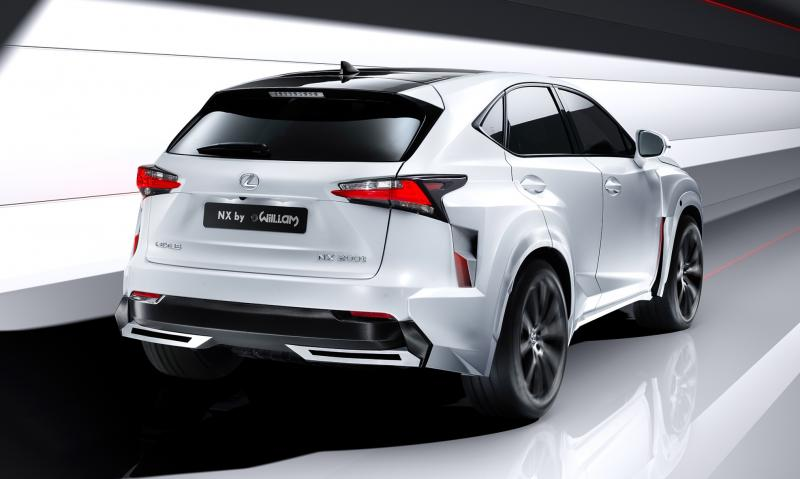 2016 Lexus NX-F Concept 2