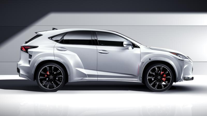2016 Lexus NX-F Concept 3