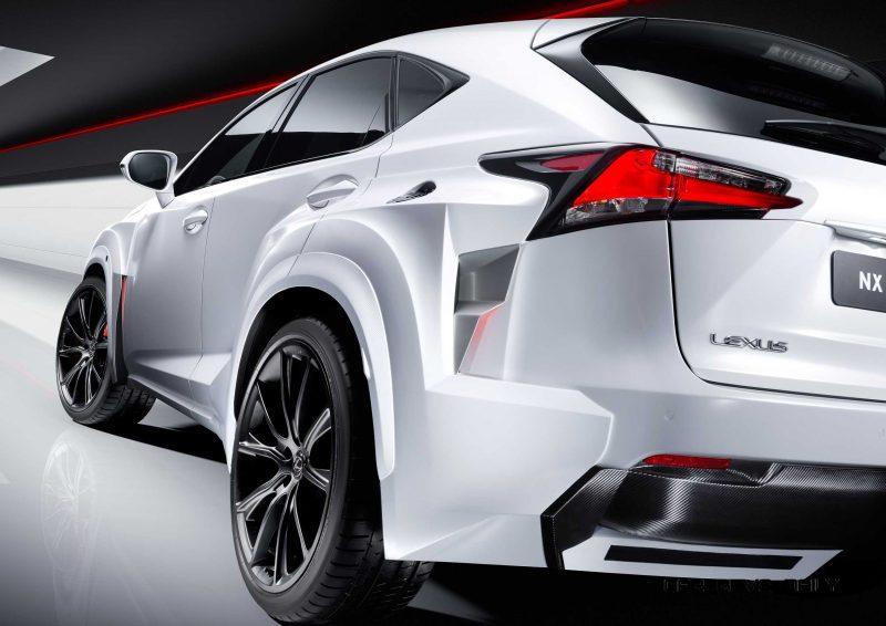 2016 Lexus NX-F Concept 6