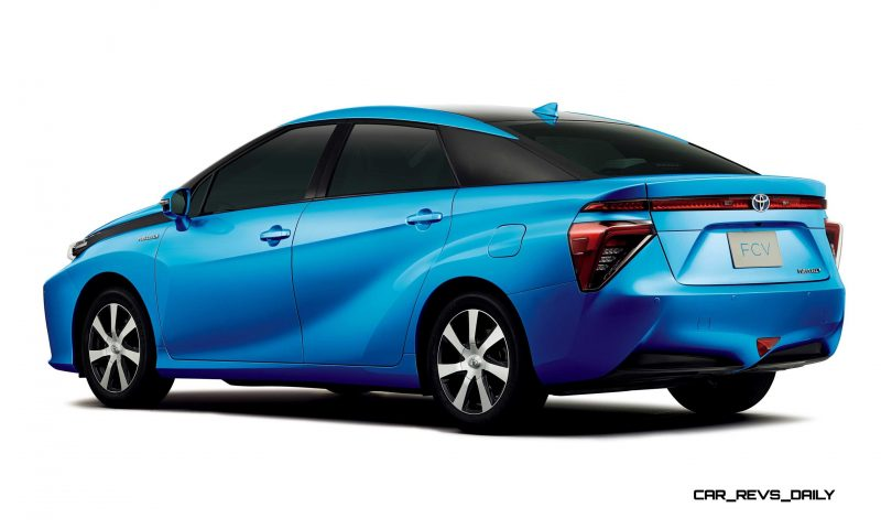 2016 Toyota FCV Production Car 11