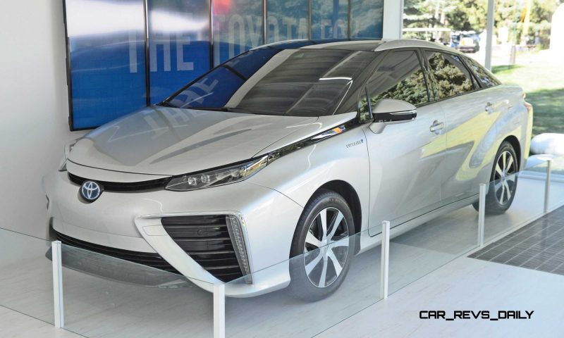 2016 Toyota FCV Production Car 14