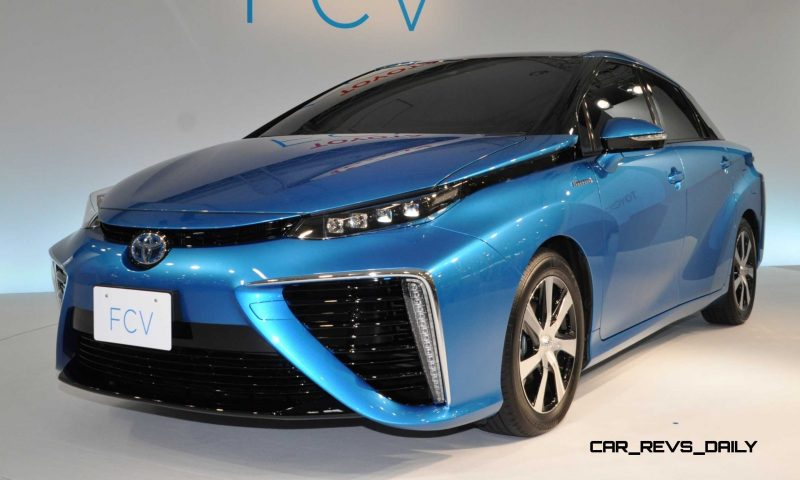 2016 Toyota FCV Production Car 21