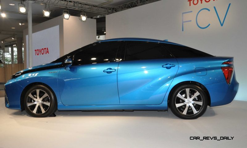 2016 Toyota FCV Production Car 22