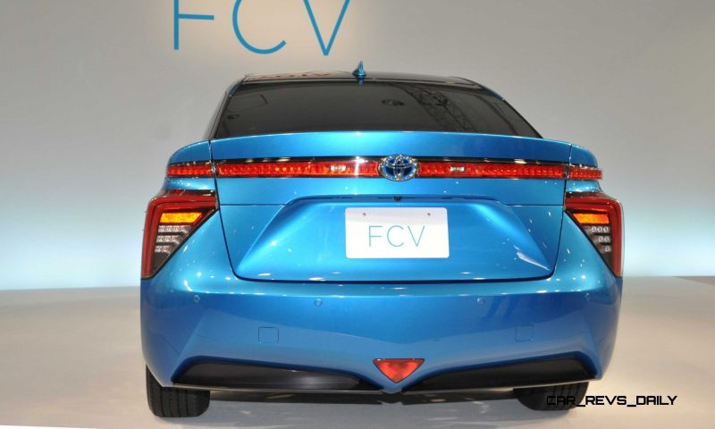 2016 Toyota FCV Production Car 24