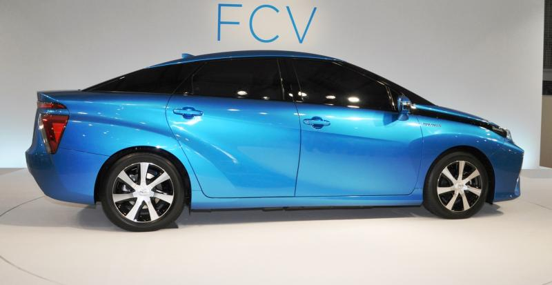 2016 Toyota FCV Production Car 27