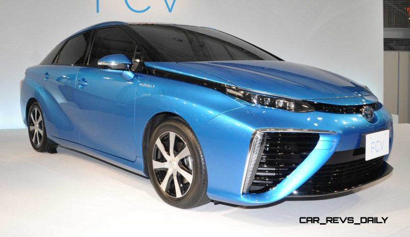 2016 Toyota FCV Production Car 29