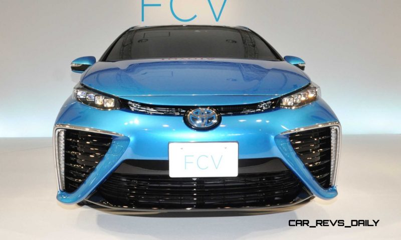 2016 Toyota FCV Production Car 30