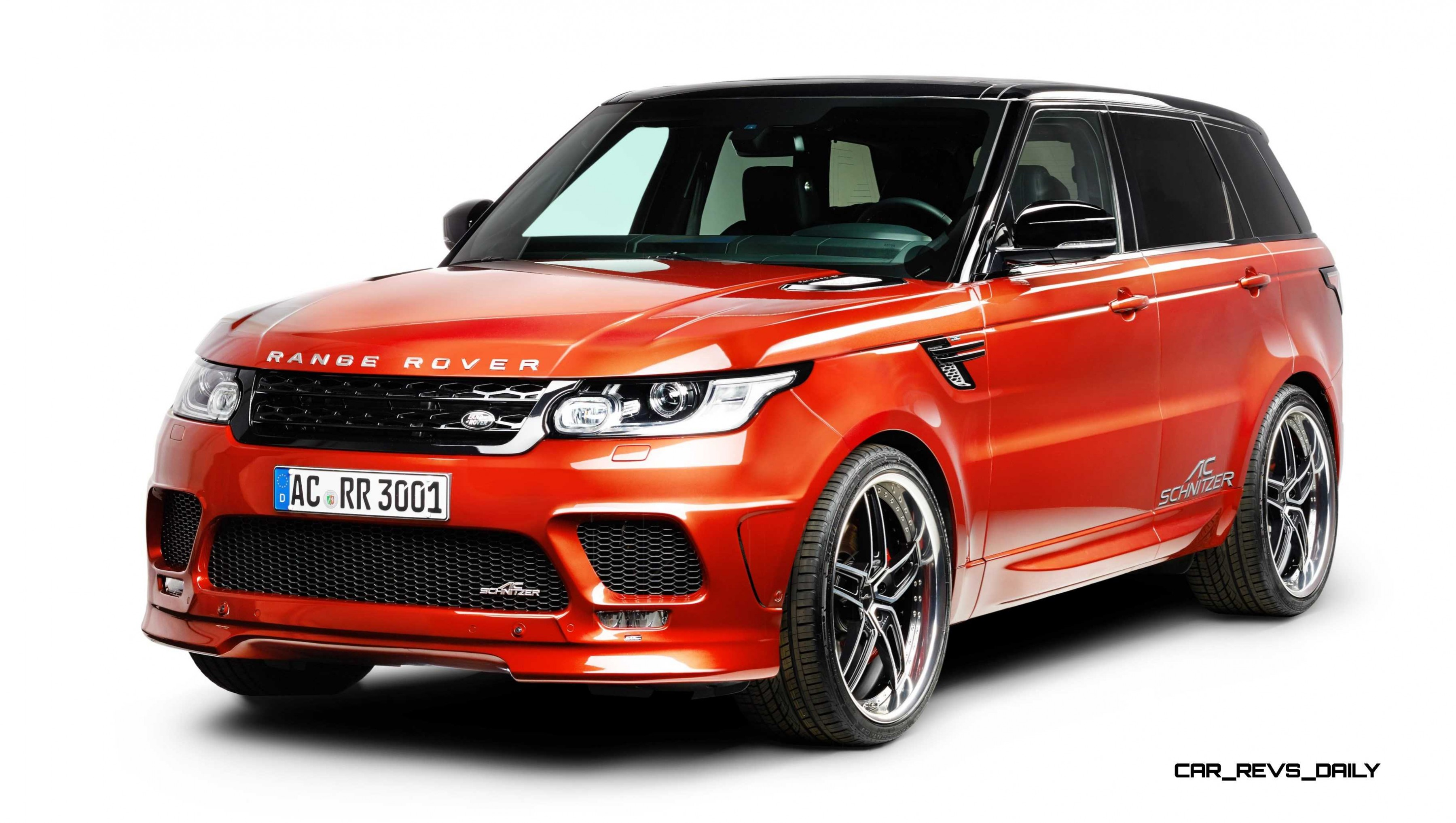 Ac Schnitzer Range Rover Sport S Is Seductive Style And