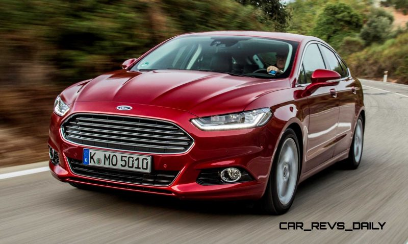 All-new Ford Mondeo debuts Pedestrian Detection; new engines and reduced weight deliver enhanced efficiency -59581