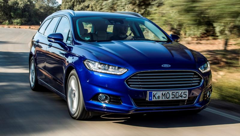 All-new Ford Mondeo debuts Pedestrian Detection; new engines and reduced weight deliver enhanced efficiency -59584