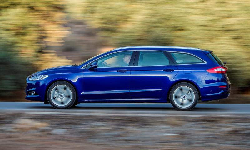 All-new Ford Mondeo debuts Pedestrian Detection; new engines and reduced weight deliver enhanced efficiency -59585