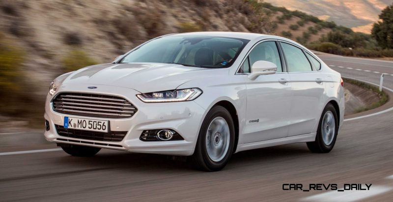 All-new Ford Mondeo debuts Pedestrian Detection; new engines and reduced weight deliver enhanced efficiency -59591
