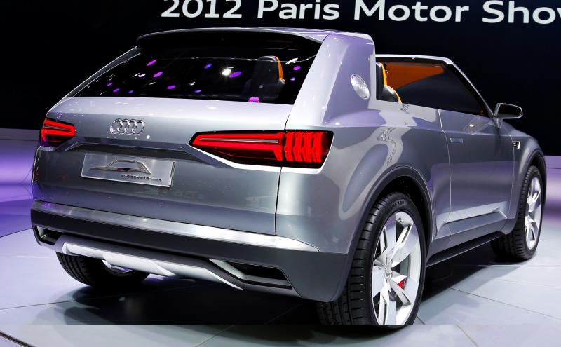 Audi LA Concept Teaser May Be Upcoming Q4 Crossover 1