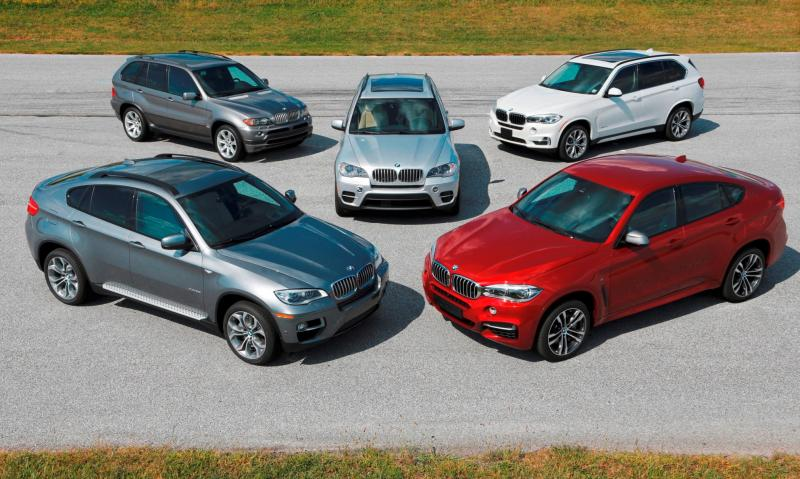 BMW X Models Celebrate 15-Year Anniversary Ahead of X7 SUV Launch 3