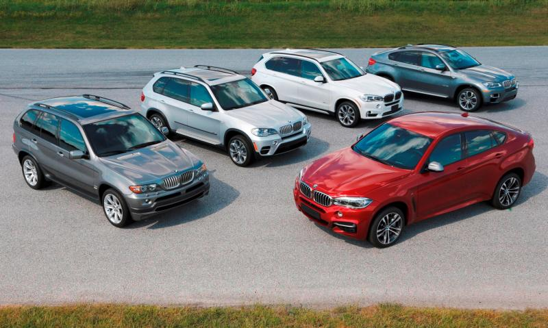 BMW X Models Celebrate 15-Year Anniversary Ahead of X7 SUV Launch 4
