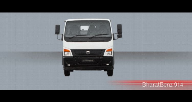 Bharat Benz gif 914