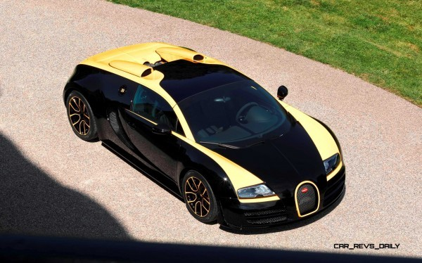 Bugatti veyron vitesse black